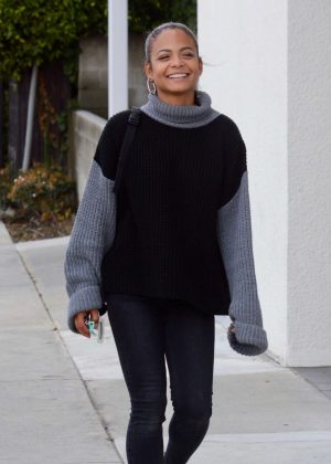 Christina Milian - Out and about in Los Angeles