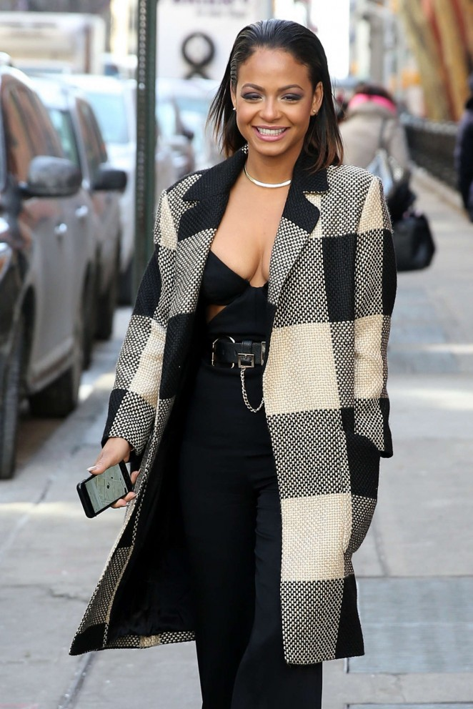 Christina Milian - Out during NYFW in NYC