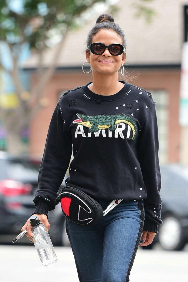 Christina Milian - Out for shopping in Studio City