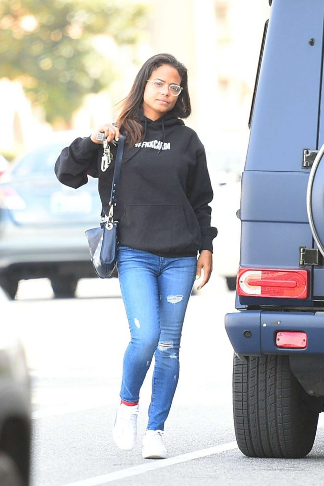 Christina Milian - Out in Los Angeles