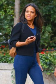 Christina Milian - Out in New York City