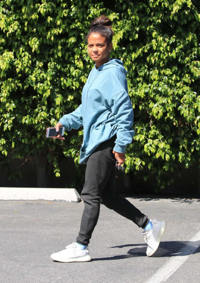 Christina Milian - Out in Studio City