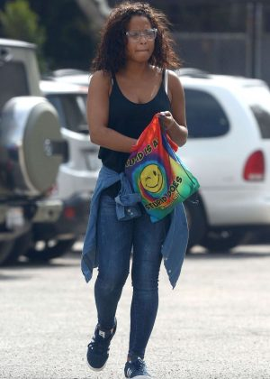 Christina Milian - Out in West Hollywood
