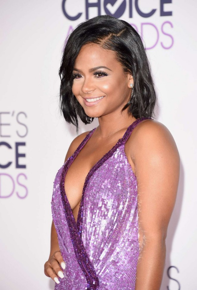 Christina Milian - People's Choice Awards 2016 in Los Angeles
