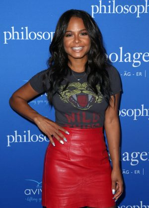 Christina Milian - Philosophy And Ellen Pompeo Welcome You To The Age Of Cool in West Hollywood