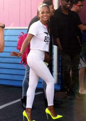 Christina Milian - Pink Taco in LA