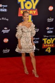 Christina Milian - Red carpet at 'Toy Story 4' premiere in Los Angeles