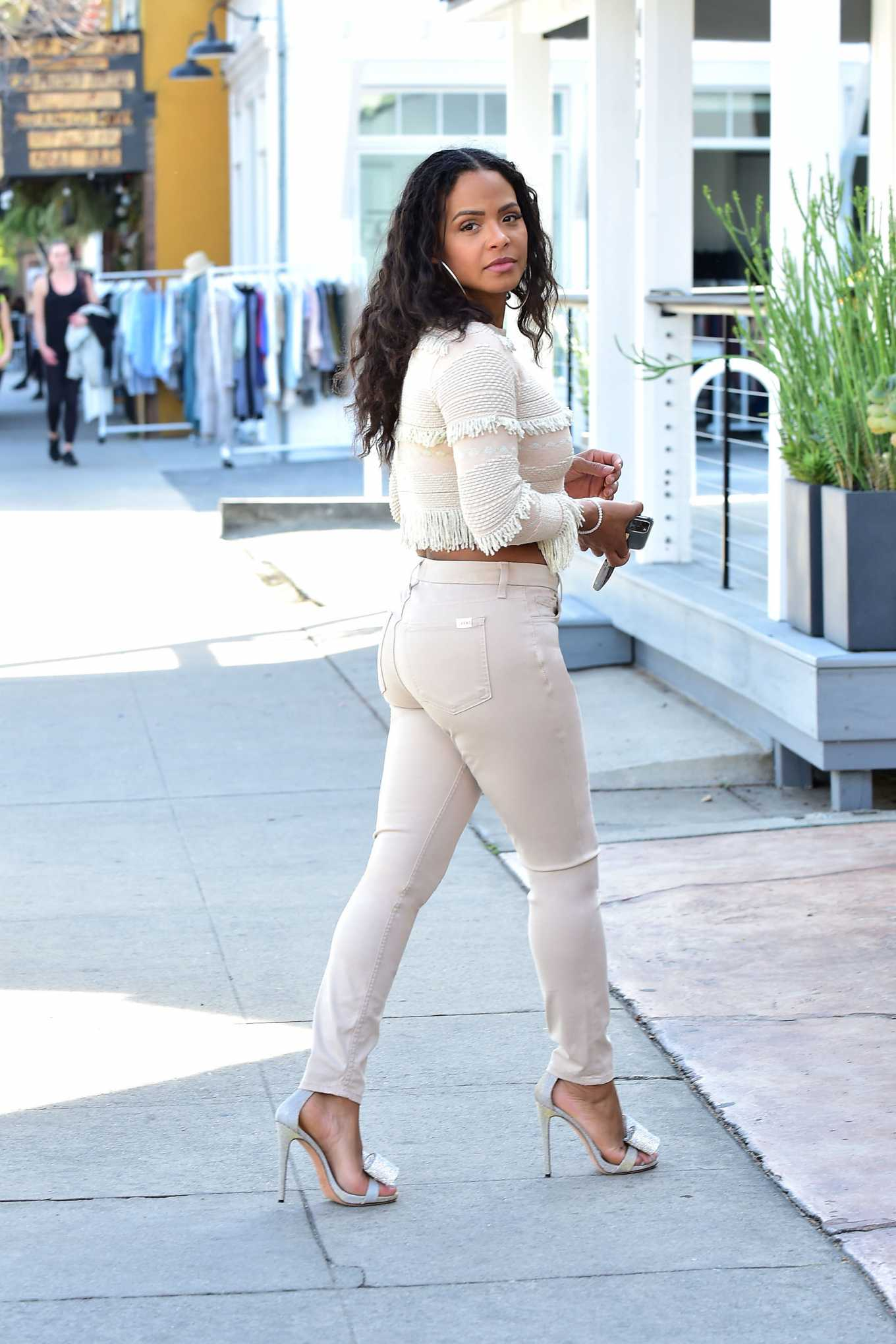Christina Milian - Running errands in the Valley, Los Angeles