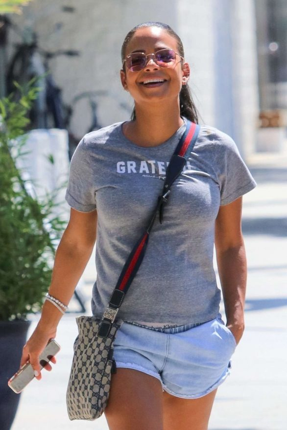 Christina Milian - Shopping in Los Angeles