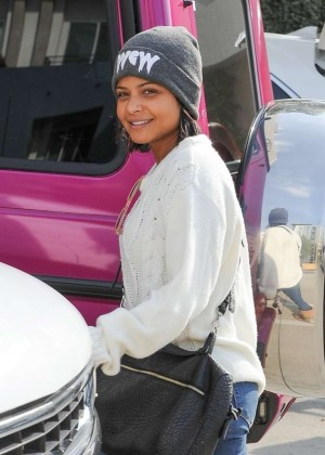 Christina Milian - Shopping in Studio City
