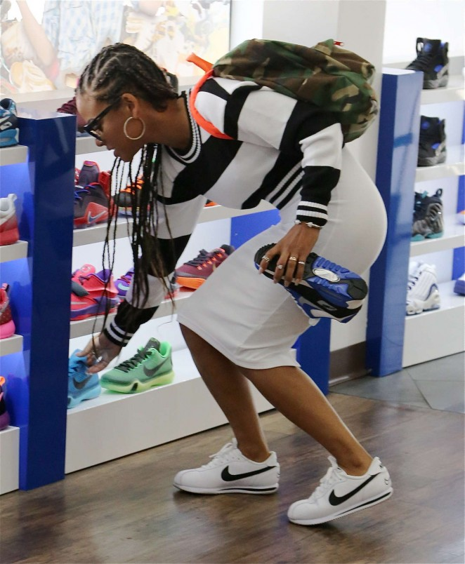 Christina Milian: Sneaker Shopping -03