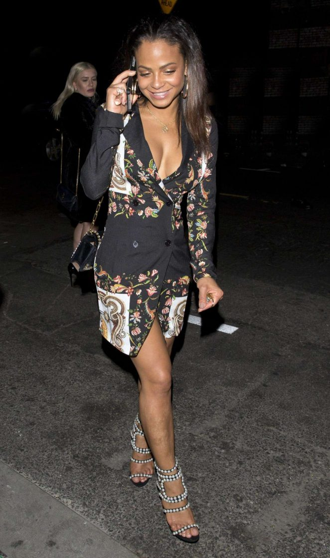Christina Milian - The Avenue Night Club in West Hollywood