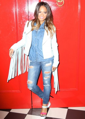 Christina Milian - The Chester Restaurant in NYC