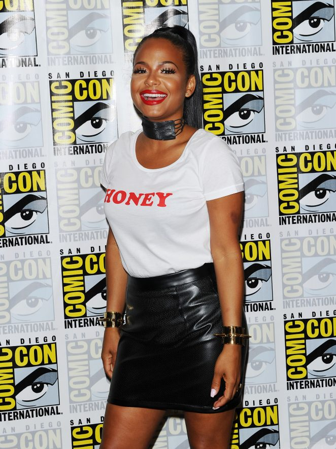 Christina Milian - 'The Rocky Horror Picture Show' Press Line at Comic-Con 2016 in San Diego