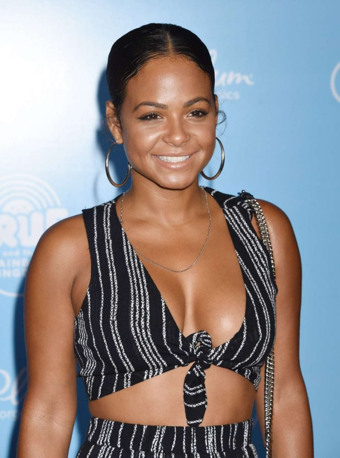 Christina Milian - 'True And The Rainbow Kingdom' Premiere in Los Angeles