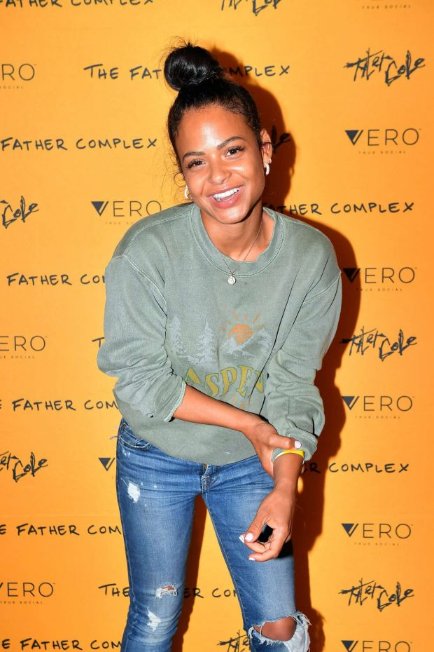 Christina Milian - Vero celebration with Tyler Cole in Los Angeles