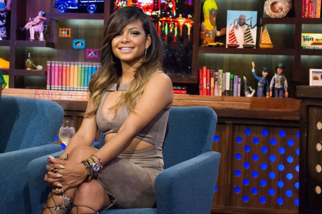 Christina Milian - Watch What Happens Live in NYC
