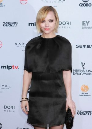 Christina Ricci - 44th International Emmy Awards in New York