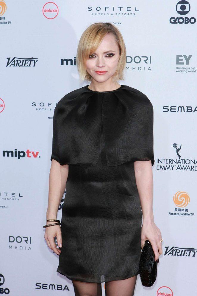 Christina Ricci – 44th International Emmy Awards in New York