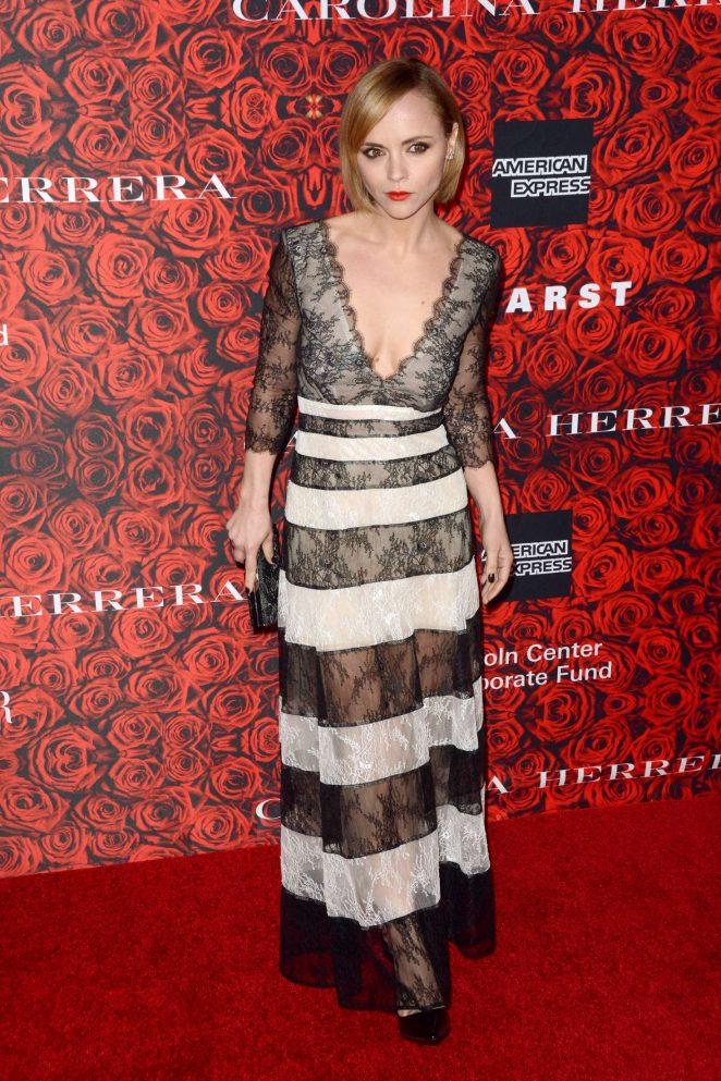Christina Ricci - An Evening Honoring Carolina Herrera in New York