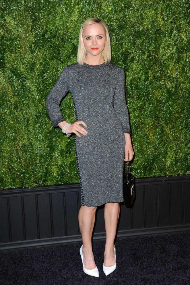 Christina Ricci – Chanel Artists Dinner at 2017 Tribeca Film Festival in NY