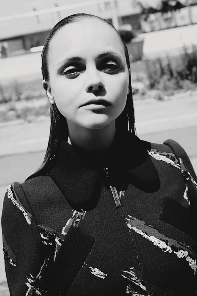 Christina Ricci – Dazed Photoshoot (Automn/Winter 2015)