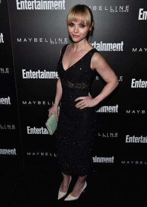 Christina Ricci - Entertainment Weekly's Celebration Honoring The Screen Actors Guild in LA