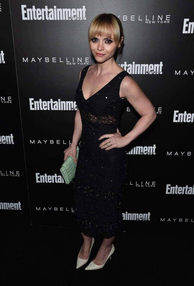 Christina Ricci – Entertainment Weekly's Celebration Honoring The Screen Actors Guild in LA