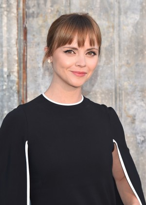 Christina Ricci - Givenchy Spring 2016 Fashion Show in NYC