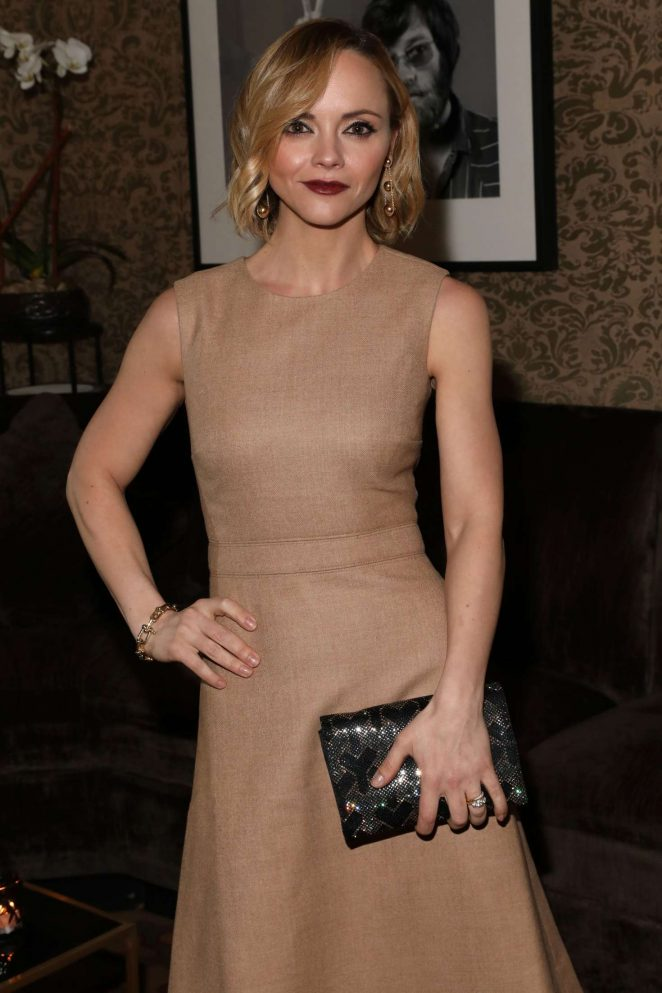 Christina Ricci - InStyle March issue party in New York
