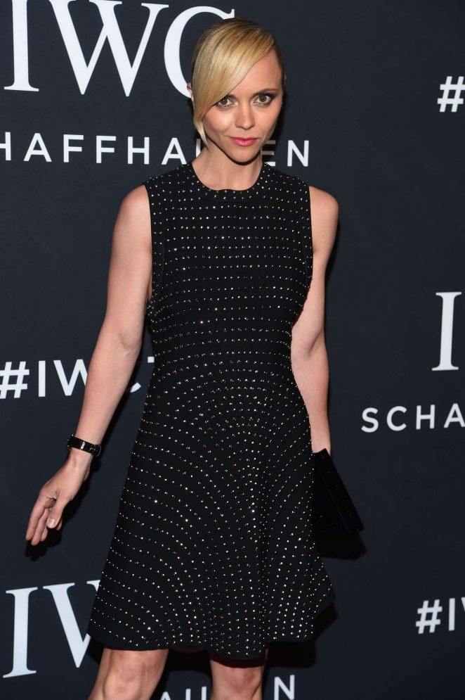Christina Ricci - IWC Schaffhausen 5th Annual For the Love of Cinema Gala in NY