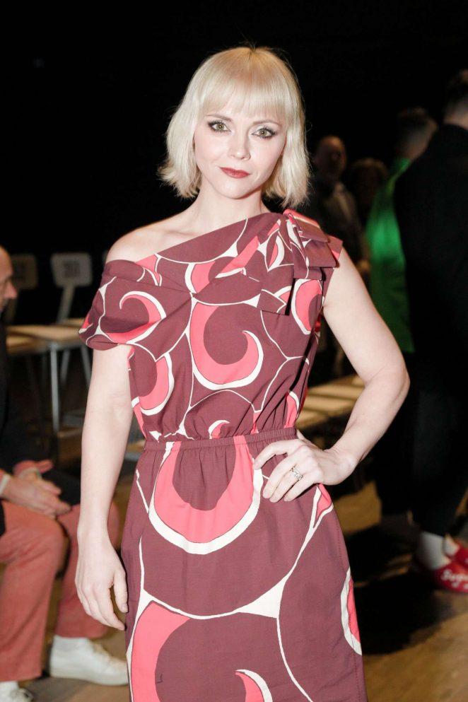Christina Ricci – Marc Jacobs Fashion Show 2018 in NY