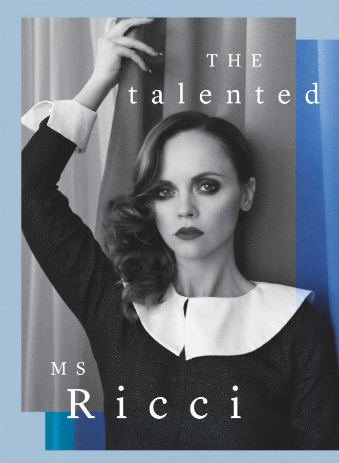 Christina Ricci - Marie Claire UK Magazine (March 2017)