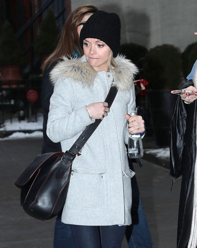 Christina Ricci out and about in New York City
