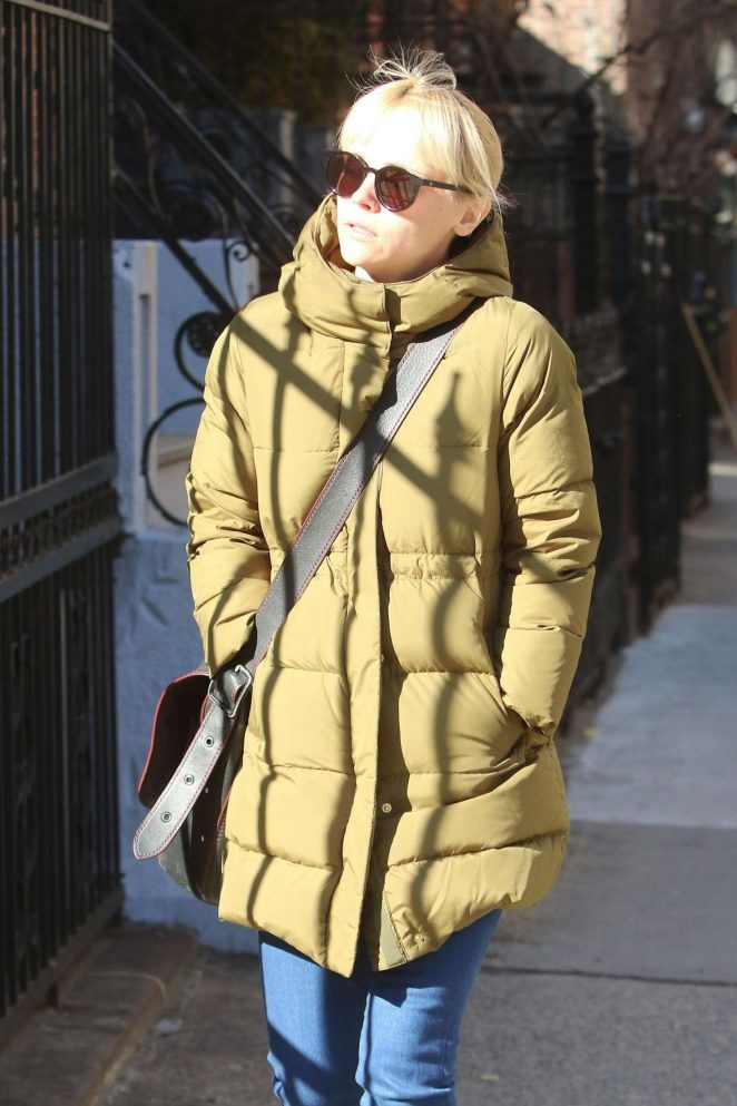 Christina Ricci out in NYC