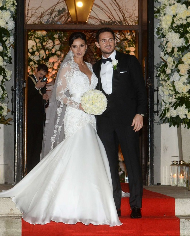 Christine Bleakley and Frank Lampard Wedding Ceremony in Knightsbridge