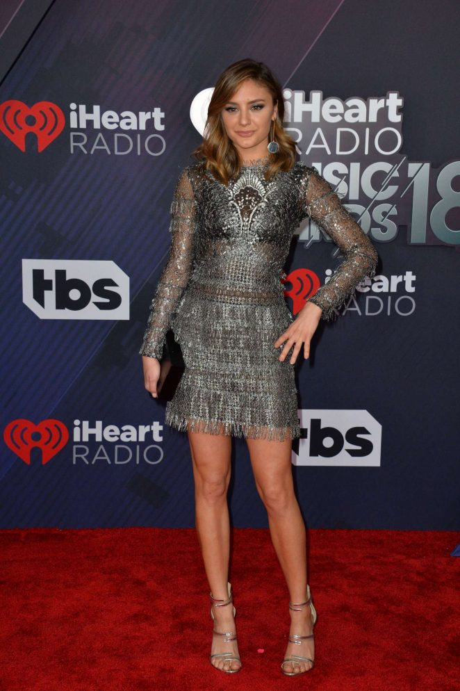 Christine Evangelista - 2018 iHeartRadio Music Awards in Inglewood