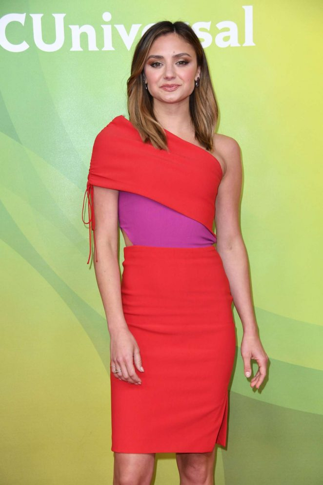Christine Evangelista - 2018 NBCUniversal Summer Press Day in Universal City