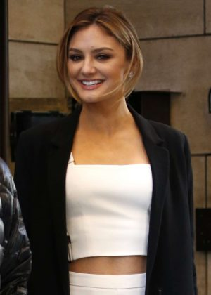 Christine Evangelista at Four Seasons Hotel in New York City