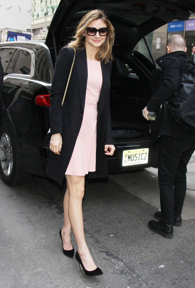 Christine Evangelista at 'Today Show' in New York