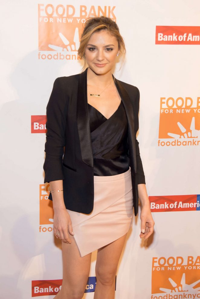 Christine Evangelista - Food Bank for New York City's Can Do Awards Dinner in NY