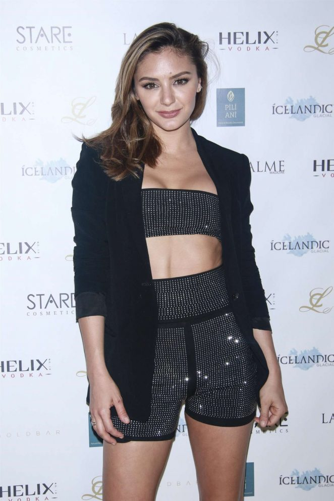 Christine Evangelista - LAPALME Magazine Cover Party in New York