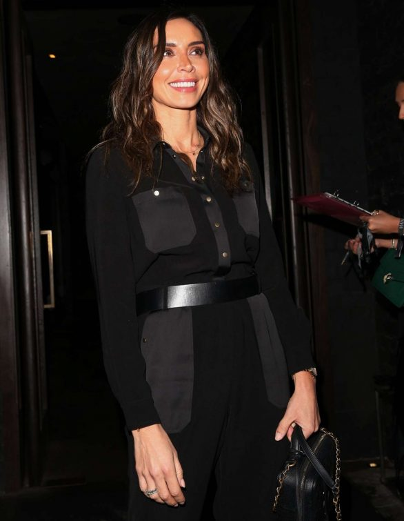 Christine Lampard - Arrives at Sandbanks Launch Party in London