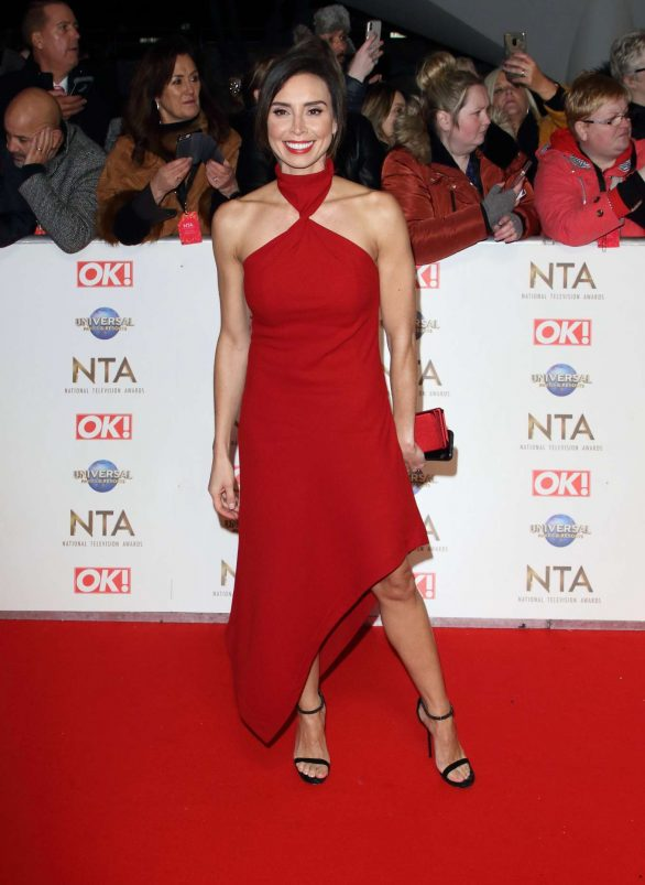Christine Lampard - National Television Awards 2020 in London