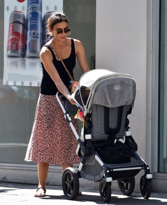 Christine Lampard - Out in London