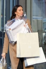 Christine Lampard - Shopping candids