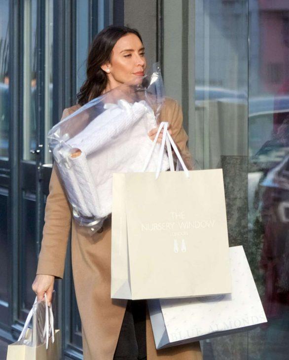 Christine Lampard - Shopping candids
