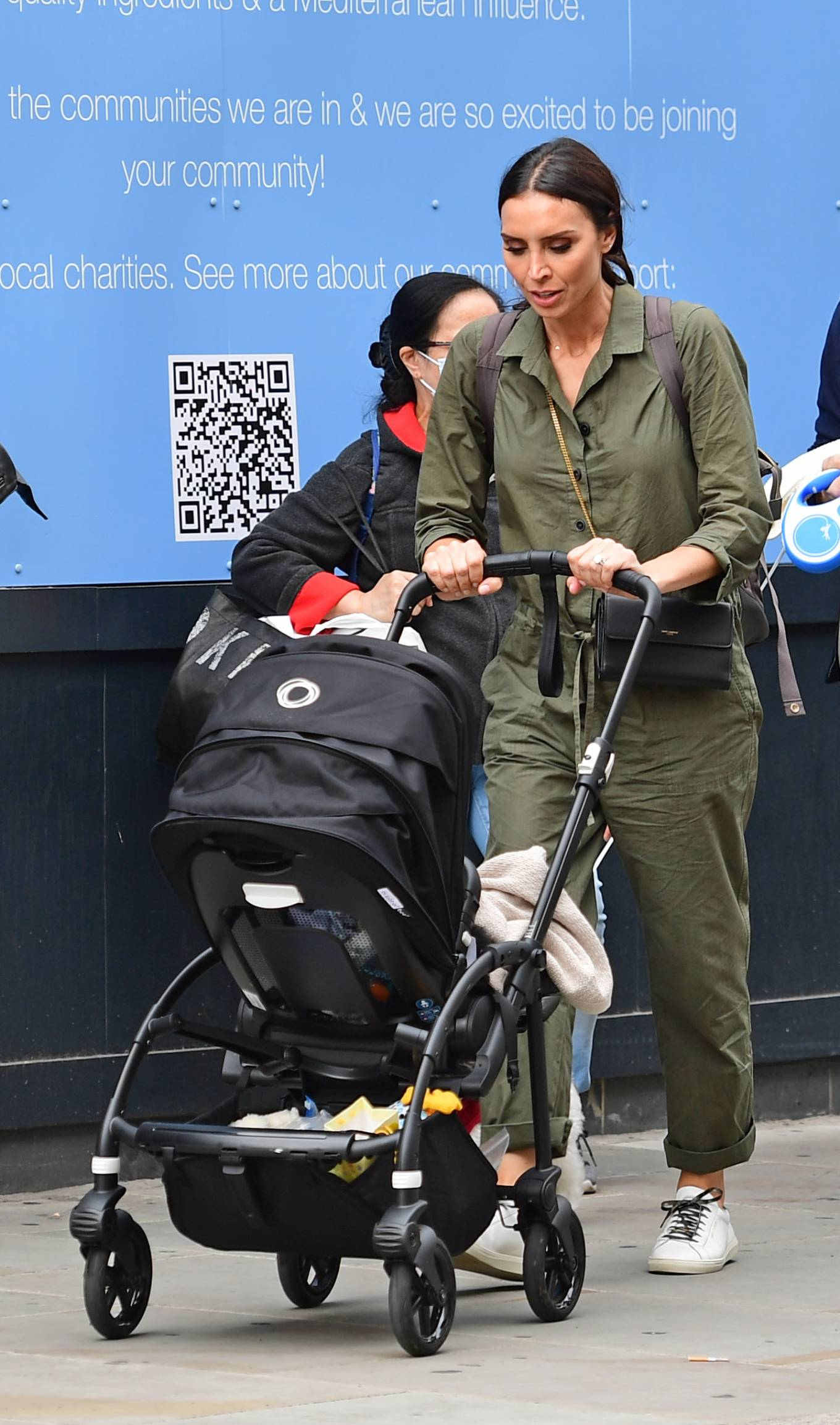 Christine Lampard - Spotted on a stroll through Chelsea