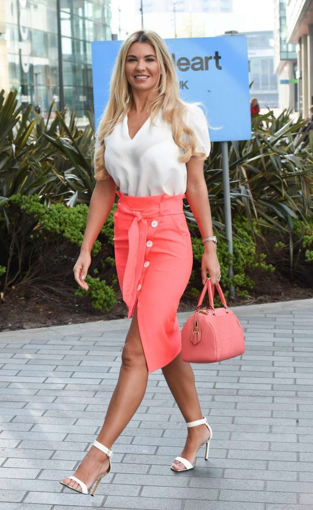 Christine McGuinness at BBC Breakfast Studio in Manchester