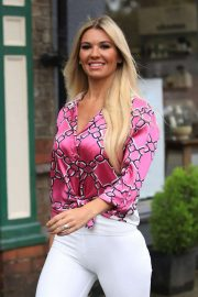 Christine McGuinness at the KP Aesthetics Clinic in Cheshire